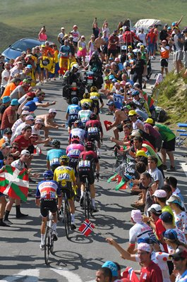 Leaders climb Tourmalet Stage 14 Tour de France 2019