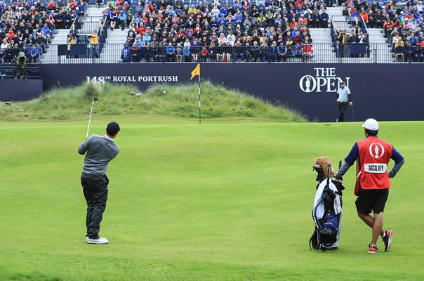 Rory McIlroy Northern Ireland 18th Green Royal Portrush Open 2019