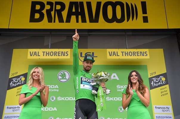 Peter Sagan Record 7th Green Jersey Tour de France 2019
