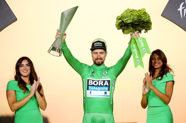 Peter Sagan wins record 7th Points Title Tour de France 2019
