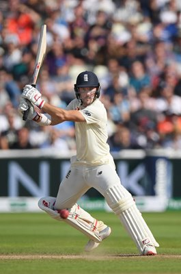 Rory Burns England bats v Australia Edgbaston Ashes 2019