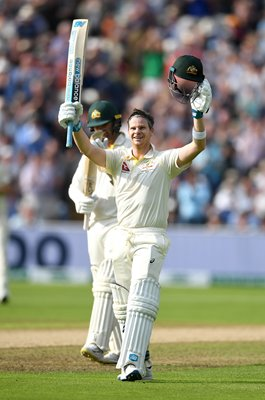 Steve Smith Australia Century v England Edgbaston Ashes 2019