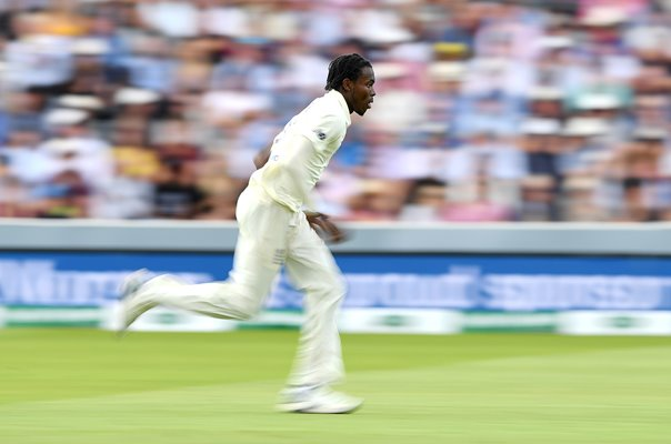 Jofra Archer England Fast Bowler Lord's Ashes Test 2019