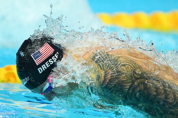 Caeleb Dressel USA 100m Butterfly World Swimming South Korea 2019