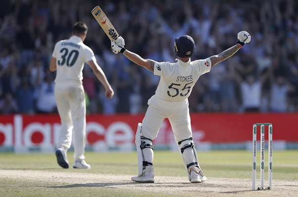 Ben Stokes England beat v Australia Headingley Ashes 2019