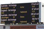 England v Australia Scoreboard Headingley Ashes Test 2019 Prints