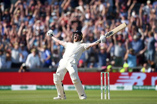 Ben Stokes England celebrates v Australia Headingley Ashes 2019