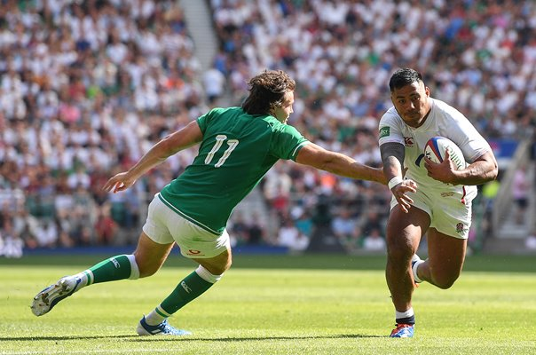 Manu Tuilagi England beats Jacob Stockdale Ireland Twickenham 2019