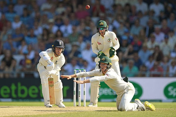 Jack Leach 1 not out England v Australia Headingley Ashes 2019