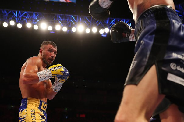 Vasiliy Lomachenko against Luke Campbell World Title Fight London 2019