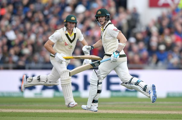 Steven Smith & Marnus Labuschagne Australia Manchester Ashes 2019