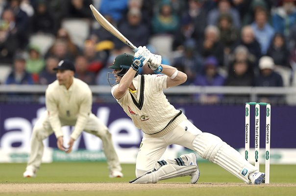 Steve Smith Australia batting v England Old Trafford Ashes 2019