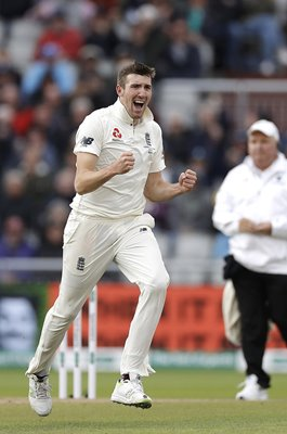 Craig Overton England v Australia wicket Old Trafford Ashes 2019