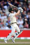 Steve Smith Australia cuts v England Old Trafford Ashes 2019 Prints