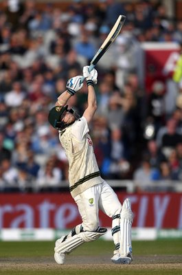 Steve Smith Australia hits out v England Old Trafford Ashes 2019