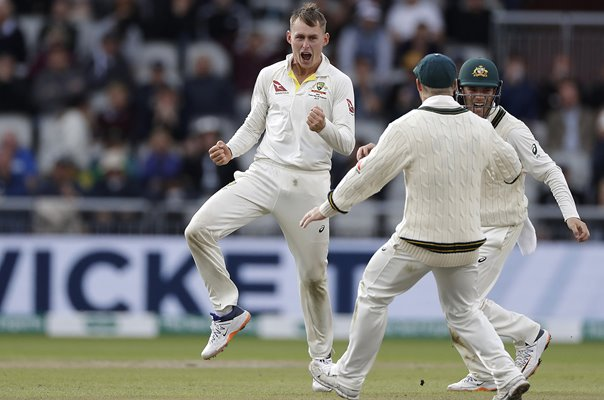 Marnus Labuschagne Australia wicket v England Old Trafford Ashes Test 2019