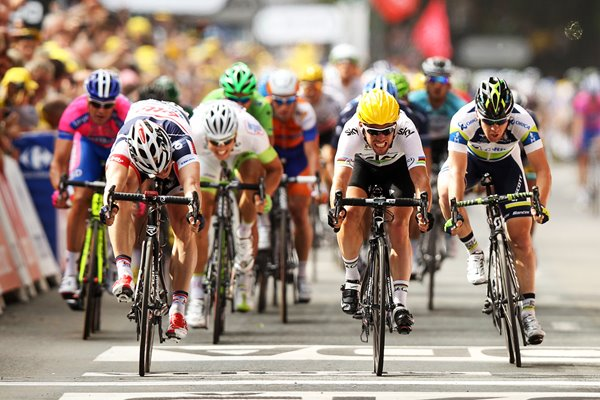 Mark Cavendish wins Stage Two Tournai 2012