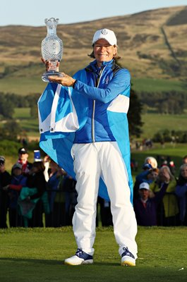 Catriona Matthew Europe Winning Captain Solheim Cup 2019