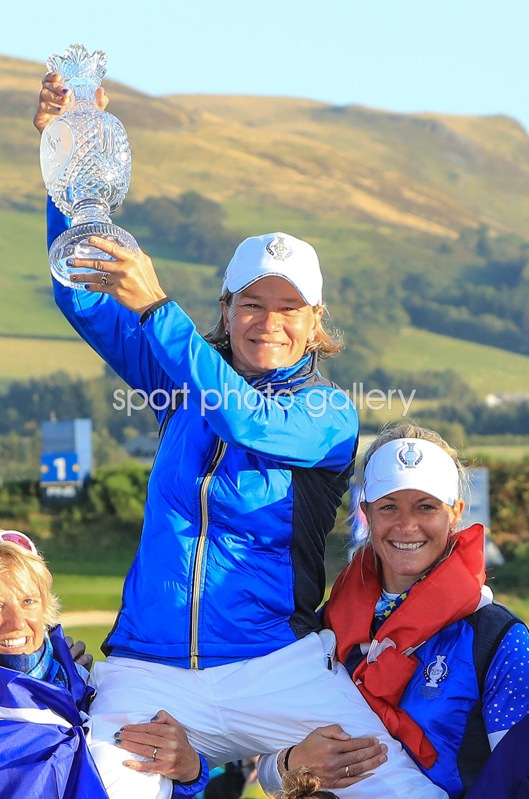 Catriona Matthew European Team captain Solheim Cup 2019