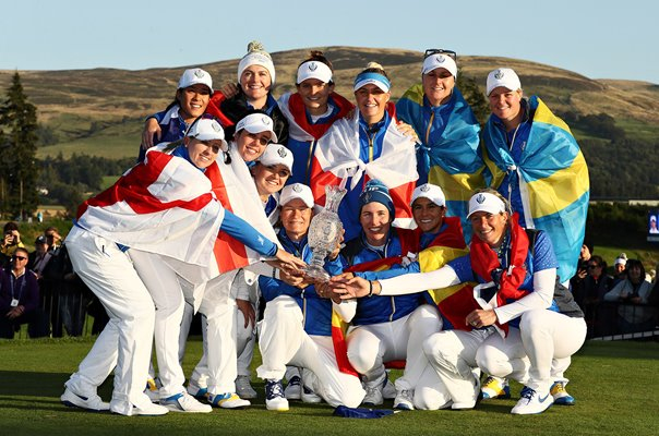 Europe Solheim Cup Winners Gleneagles 2019