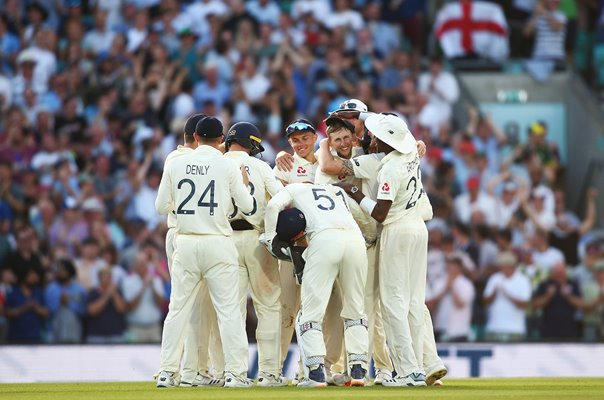England winning wicket v Australia Oval Test Ashes 2019