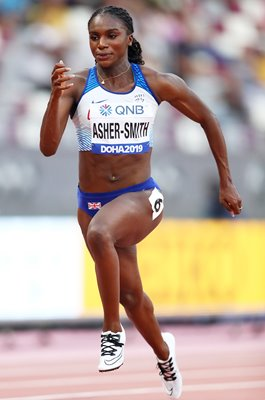 Dina Asher-Smith Great Britain 100m World Athletics Doha 2019