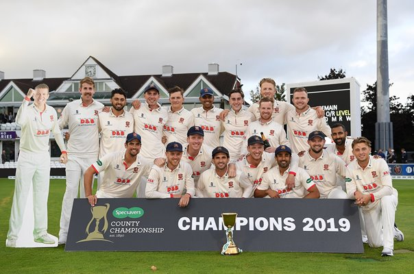 Essex County English Championship Winners 2019