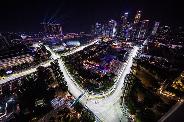 F1 Grand Prix of Singapore View 2019