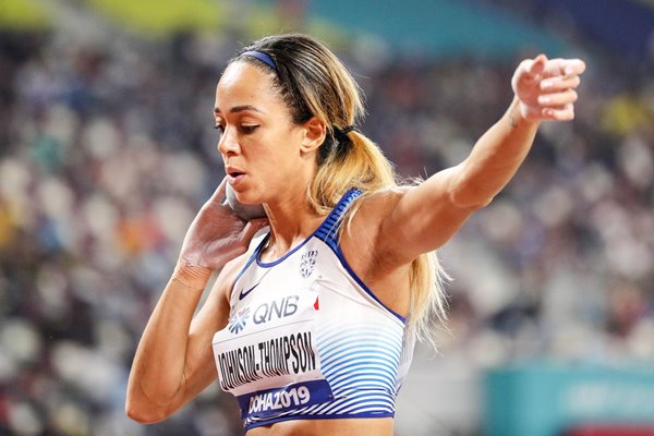 Katarina Johnson-Thompson Heptathlon Shot Put Doha 2019