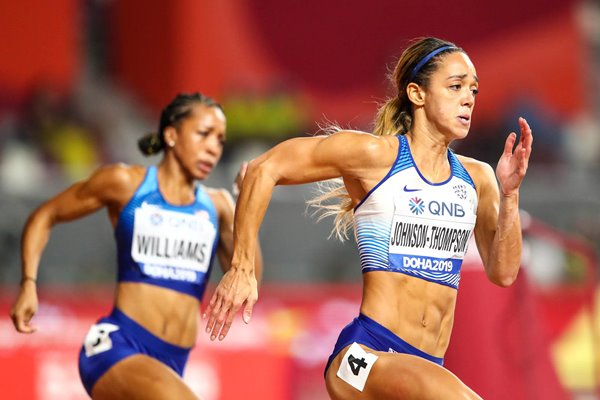 Katarina Johnson-Thompson Heptathlon 200m Worlds Doha 2019
