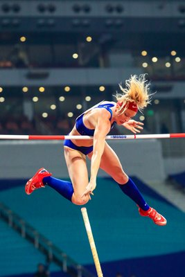 Sandi Morris USA Pole Vault Silver World Athletics Doha 2019