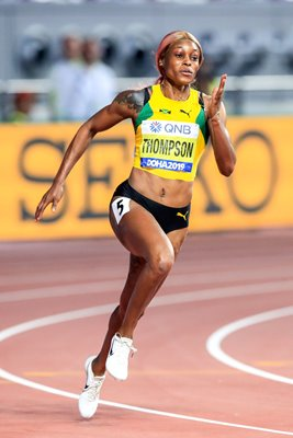 Elaine Thompson Jamaica 200m World Athletics Doha 2019