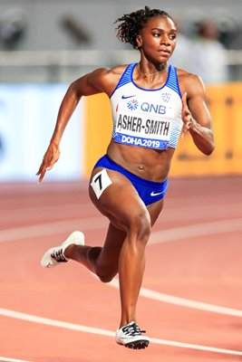 Dina Asher-Smith Great Britain 200m World Athletics Doha 2019