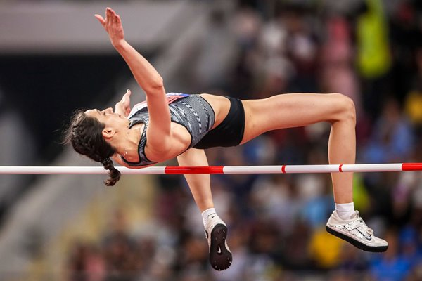 Mariya Lasitskene High Jump Gold World Athletics Doha 2019