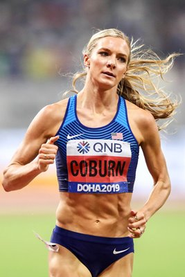Emma Coburn USA 3000m Steeplechase World Athletics 2019