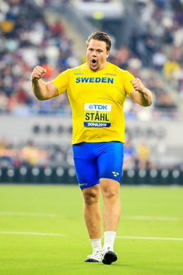 Daniel Ståhl Sweden Discus World Champion Doha 2019