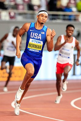 Michael Norman United States 400m World Athletics Doha 2019