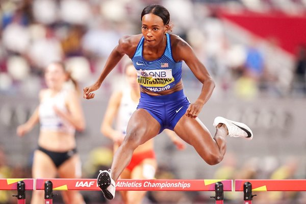 Dalilah Muhammad USA 400m Hurdles World Athletics Doha 2019