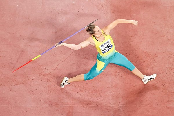 Kelsey-Lee Barber Australia Javelin Gold World Athletics 2019