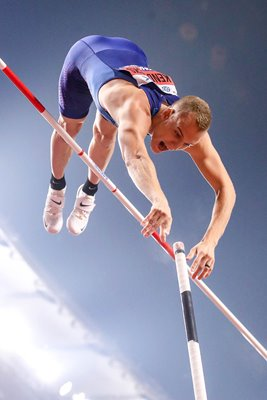 Sam Kendricks United States Pole Vault Gold World Athletics 2019