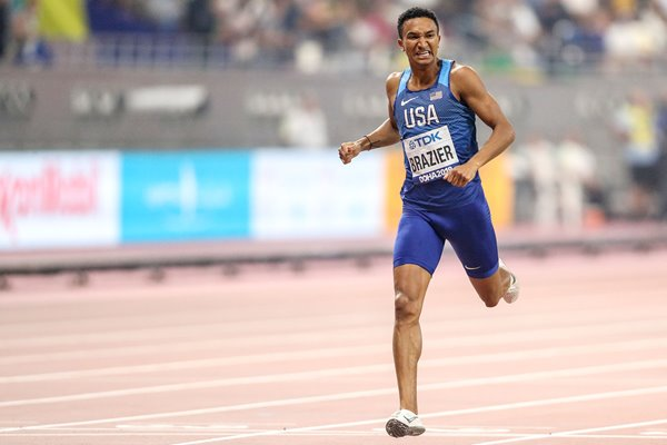Donavan Brazier USA 800m World Champion Doha 2019