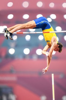 Armand Duplantis Sweden Pole Vault World Athletics Doha 2019