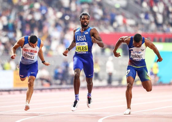 Noah Lyles USA 200m Gold World Athletics Championships Doha 2019