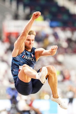 Kevin Mayer France Decathlon Long Jump World Athletics Doha 2019