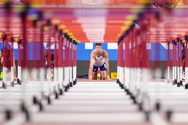 Andrew Pozzi Great Britain 110 metres hurdles World Athletics 2019