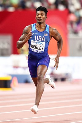 Fred Kerley USA World Athletics Championships Doha 2019