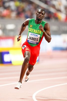 Kirani James Grenada 400m World Athletics Championships Doha 2019