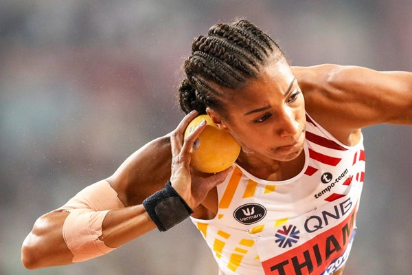 Nafissatou Thiam Belgium Heptathlon Shot Put World Athletics 2019