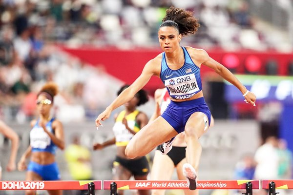 Sydney McLaughlin USA 400m Hurdles World Athletics Doha 2019