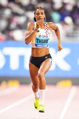 Nafissatou Thiam Belgium Heptathlon 200m World Athletics Doha 2019